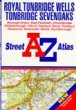 A to Z Street Atlas of Royal Tunbridge Wells, Tonbridge and Seve