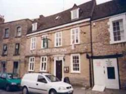 White lion inn a pub and bar in cirencester gloucestershire for Koi pool blackpool