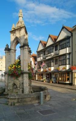 The Crown at Wells, Wells, Somerset