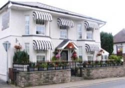 Black Lion Guest House, Abergavenny, South Wales