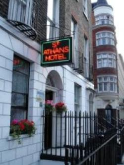 St. Athans Hotel, Bloomsbury, London