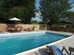 Clanville manor a b and b in castle cary somerset for Holiday homes in somerset with swimming pool