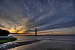 The Humber Bridge Opens to Traffic