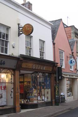 Oxfam Opens its First Charity Shop