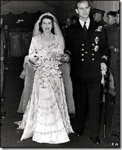 Engagement of Queen Elizabeth