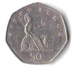 Fifty Pence Coin Issued