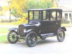 First British-Made Ford Car