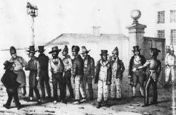 First convicts sent to Australia
