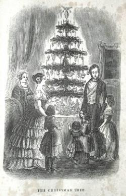 First Christmas Tree in Britain
