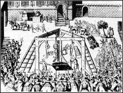 Executions of Babington Plotters Begin