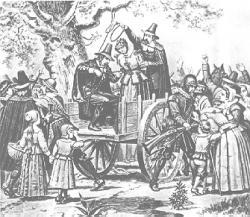 Salem Witches Executed