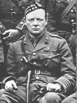 Churchill Captured by Boers