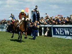 Red Rum wins the national for 3rd time