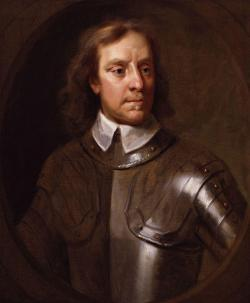 Oliver Cromwell becomes