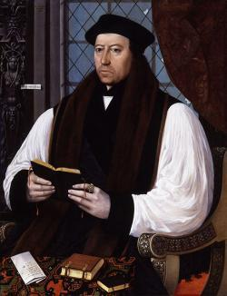 Thomas Cranmer Burnt at the Stake