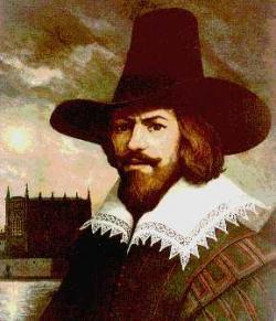 Guy Fawkes hanged, drawn and quartered