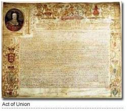 The Act of Union Signed