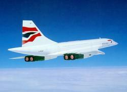 First Concorde flight