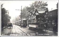 1st Trams operate in London