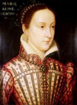 Mary Queen of Scots abdicates