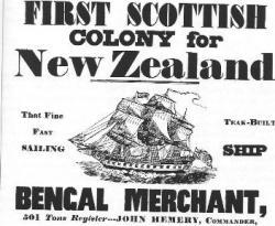 1st British Colonists reach New Zealand