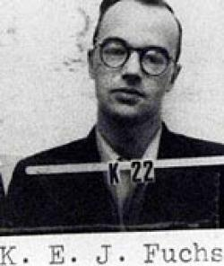 Klaus Fuchs arrested