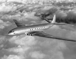 First Non-Stop Transatlantic Jet Flight