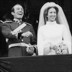 Princess Anne and Mark Phillips Marry