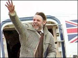 Beirut Hostage Terry Waite Released