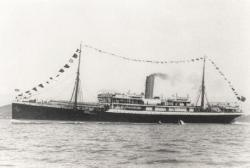 SS Mendi Sunk off Isle of Wight