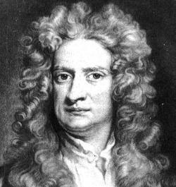 Newton the First Scientist Knighted