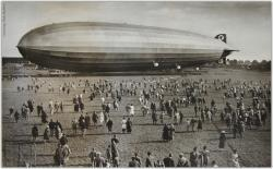 Zeppelin Fire-Bombs Southend