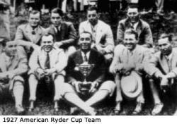 The First Ryder Cup